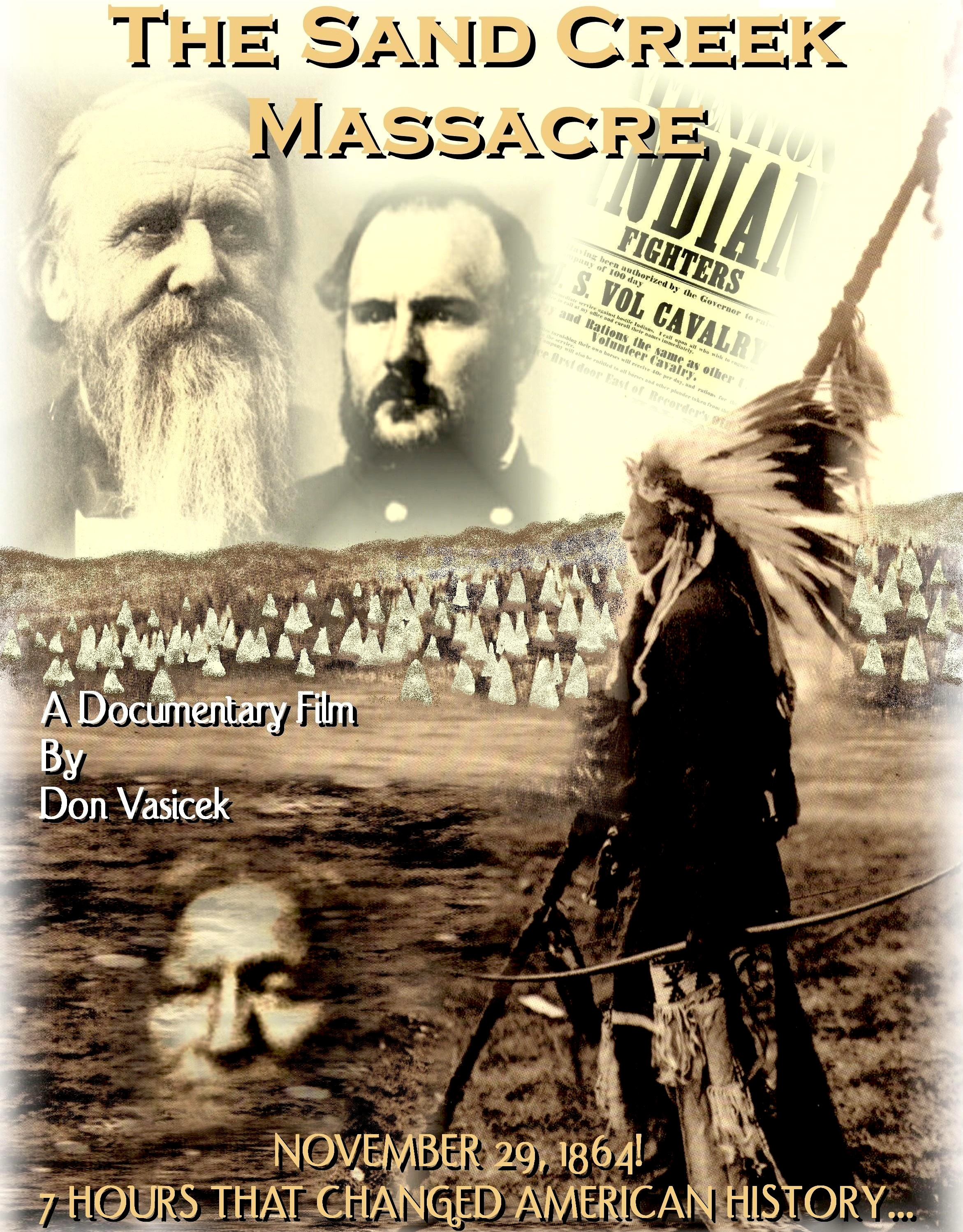 The Sand Creek Massacre Lobby Poster